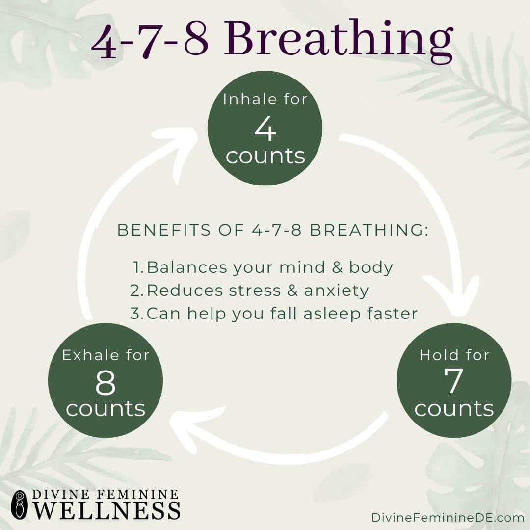 4-7-8 breathing